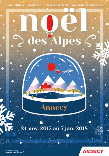 Christmas in the Alpes « Noel des Alpes », Annecy