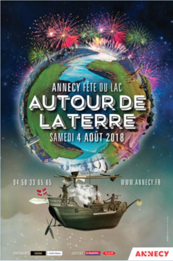 Annecy's Famous «Fete du Lac